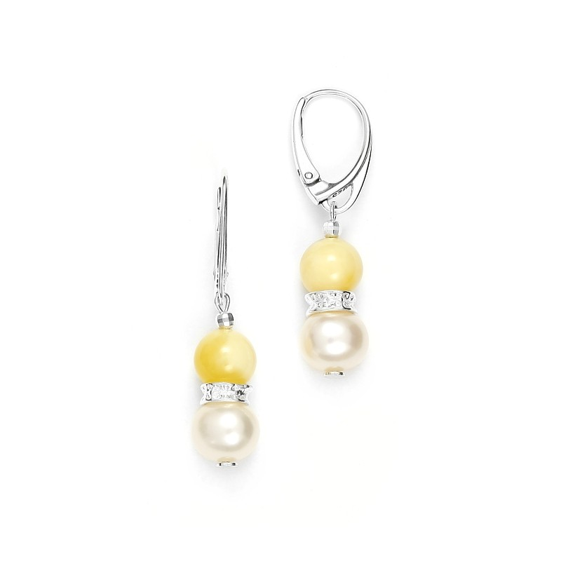 Earings amber 4
