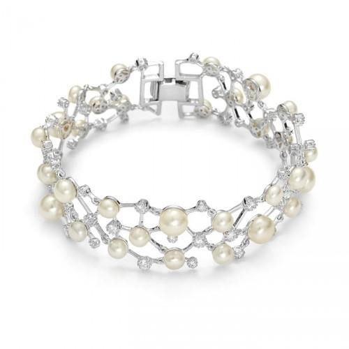 Kolekcja Princessa bransoletka z perłami