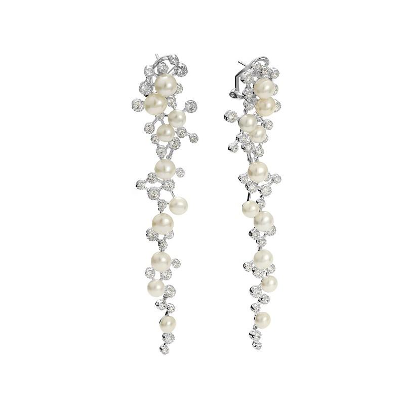 13da367e1d Long pearl earrings from Princess Collection - Firma Jubilerska ...