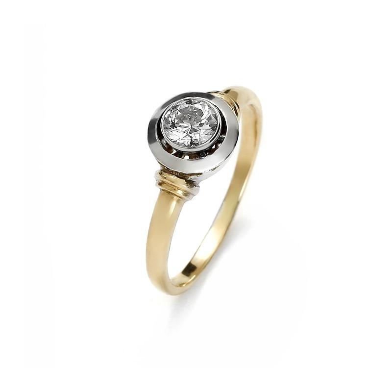 Złoty pierścionek Carmen