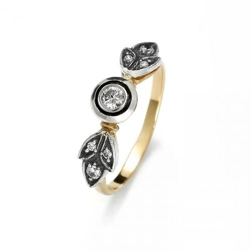"""Złoty pierścionek """"Elisabeth"""""""