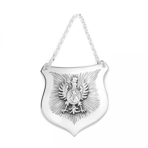 Ryngraf srebrny z orłem