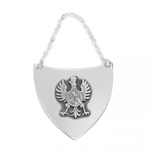 Ryngraf srebrny z orzełkiem