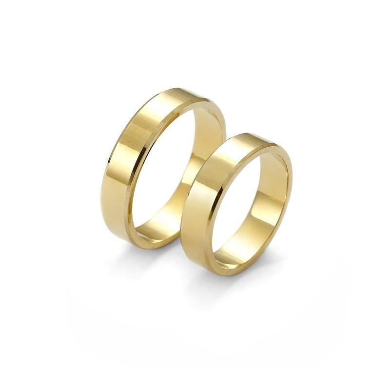 Plain Gold Wedding Ring Firma Jubilerska Malgorzata Wasowska