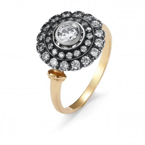 """Ring """"Small Rosette"""""""