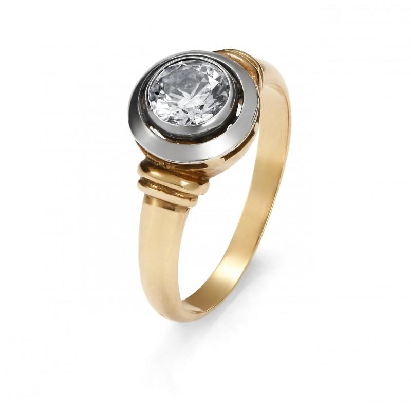 Klasyczny pierścionek Art Deco