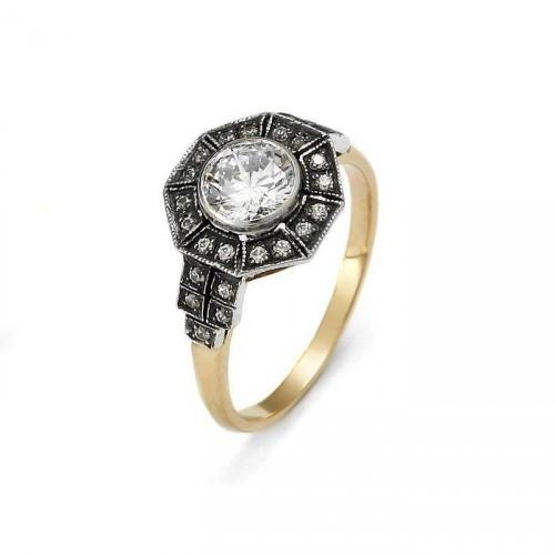 "Złoty pierścionek ""Victoria"""
